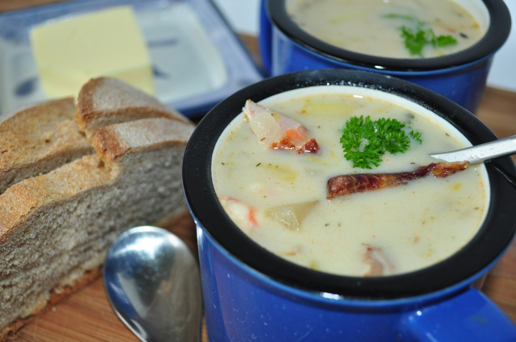 The Best West Coast Seafood Chowder