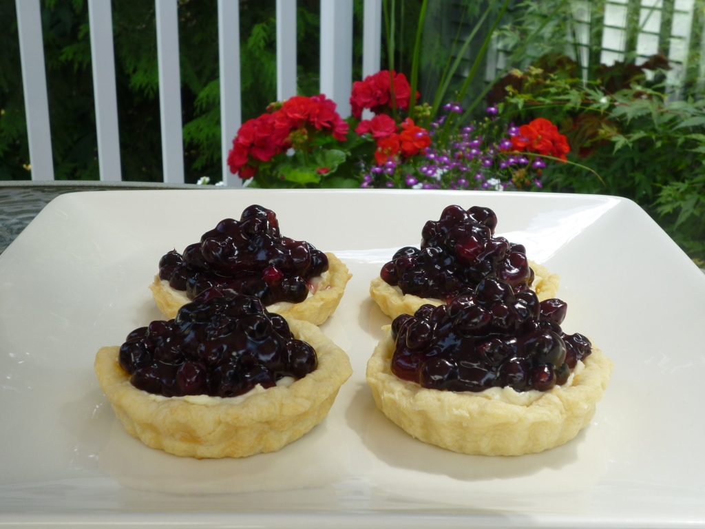 Saskatoon Berry Tarts: Only in Canada, you say?  . . . Pity.
