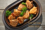 Skinny Thighs: Low Fat Chicken with Ginger-Yogurt Crispy Coating