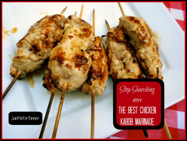Chicken Kabob Marinade--stop searching now