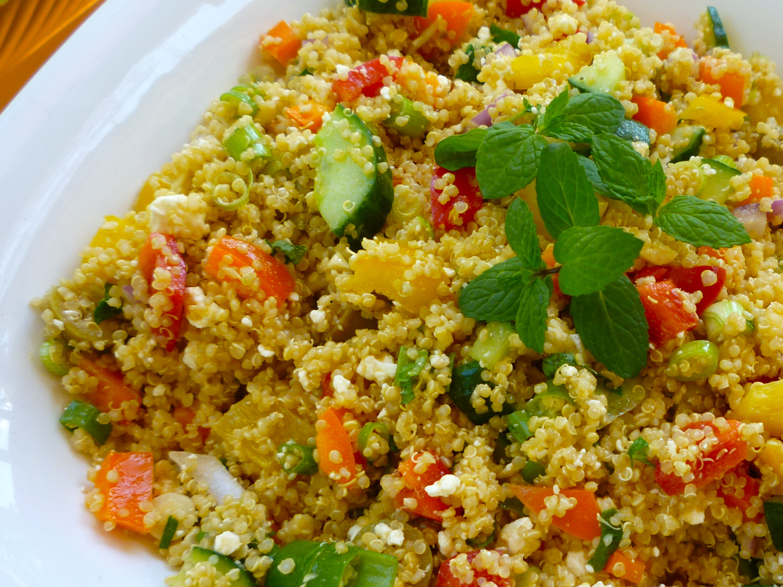 chopped veggie salad with chopped veggie salad with chopped vegetable ...