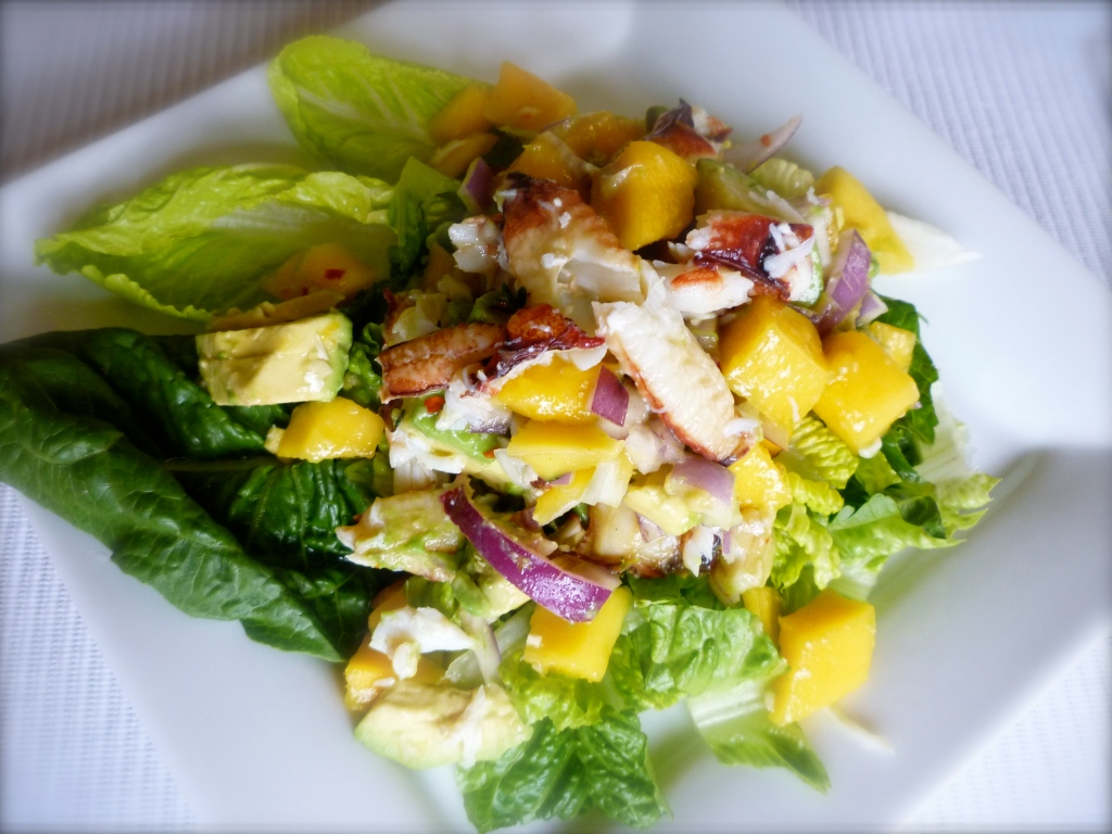Crab, Mango and Avocado Salad | joinmefordinner