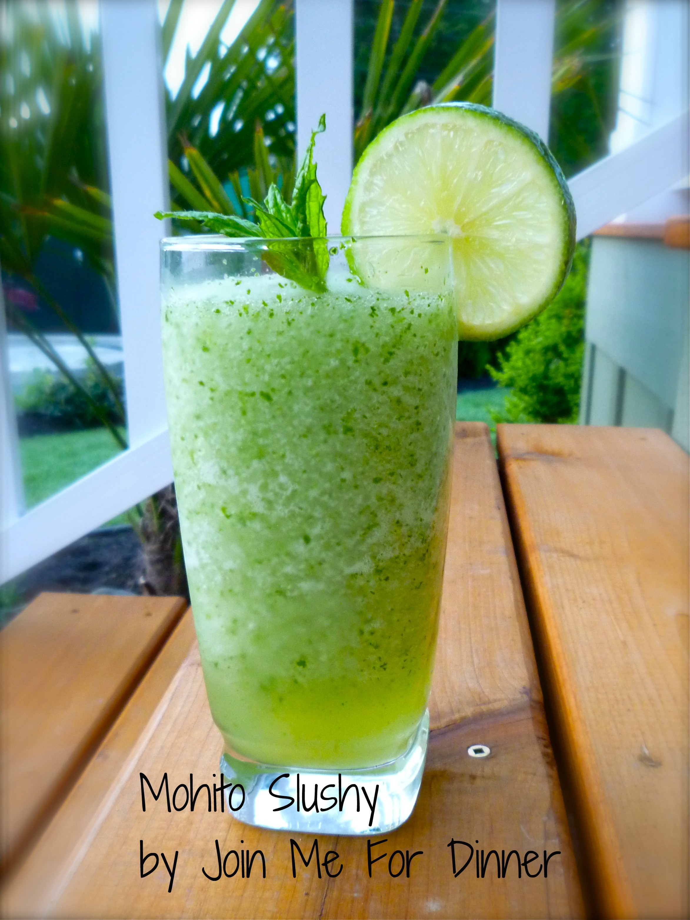 Mohito Slush... Lemoncello