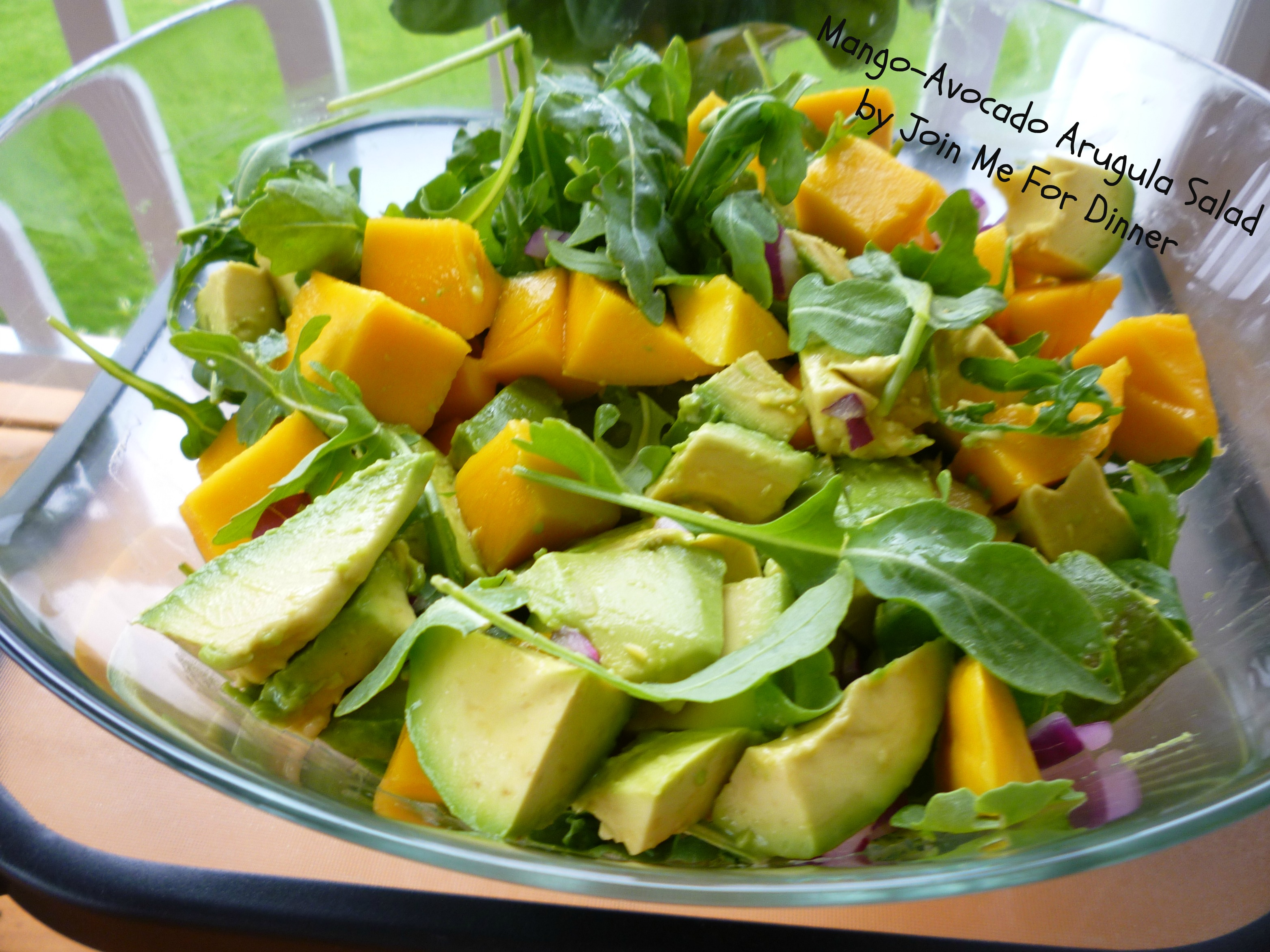 mango salad with avocado and mango salad with avocado and mango salad ...