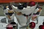 Mini Cherry-Blueberry Trifle