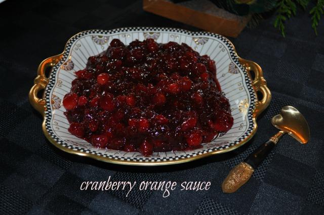 Cranberry Orange Sauce | joinmefordinner