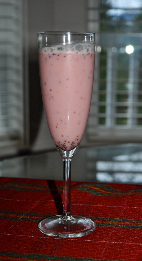 cranberry coconut smoothie