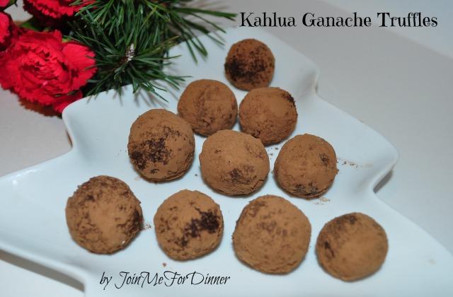 Kahlua Ganache Truffles