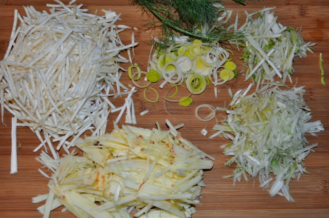 celery root salad ingredients