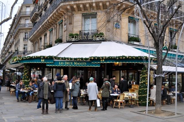 Les Deux Magots, St. Germain-de-Pres