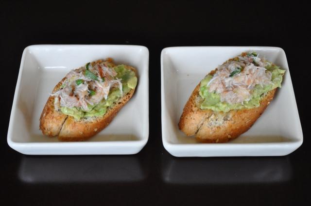 crab and avocado bites by JoinMeForDinner