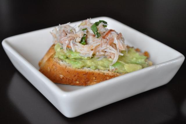 avocado 'n crab appy by JoinMeForDinner