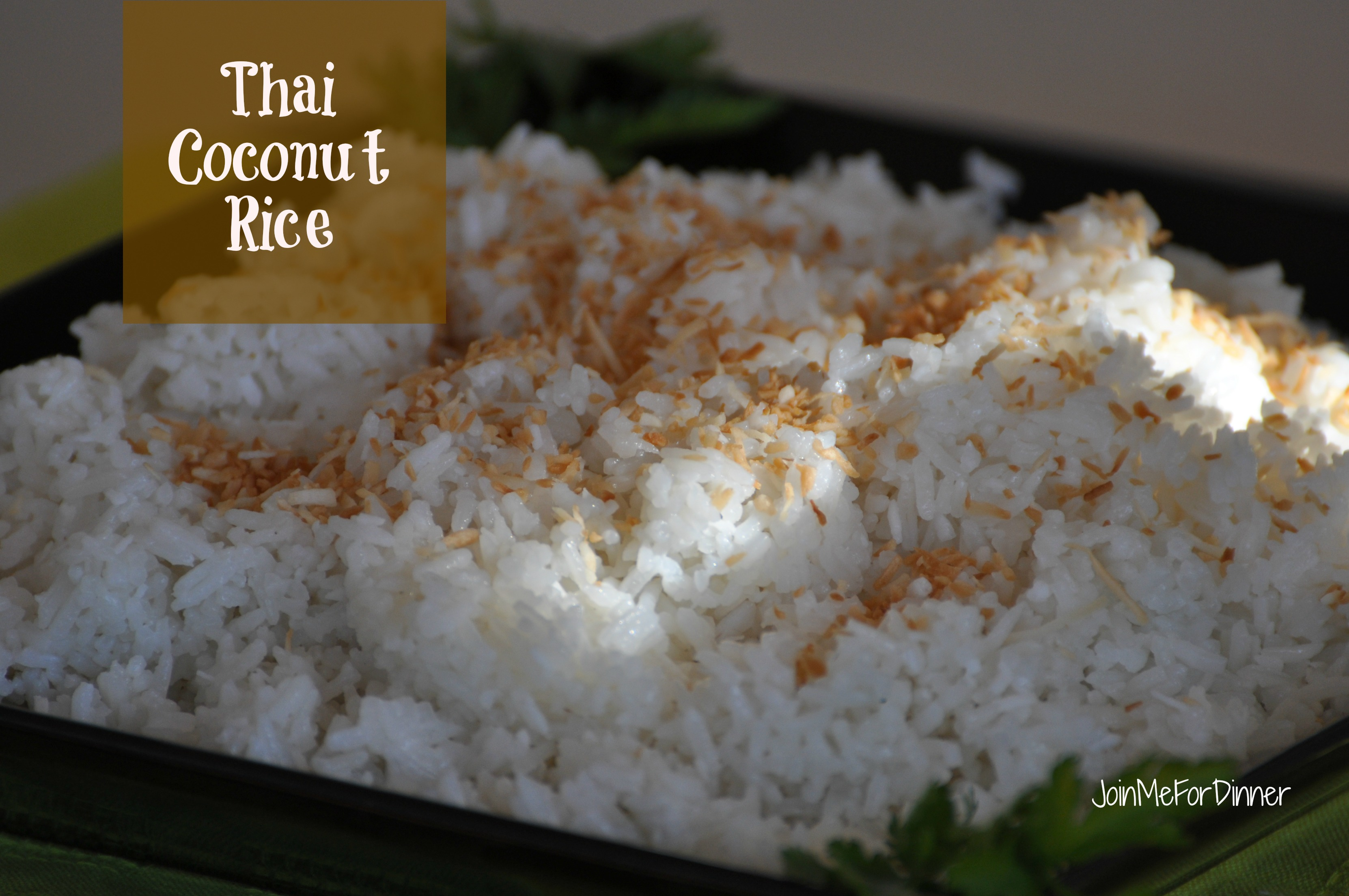 Thai Coconut Rice Recipes — Dishmaps