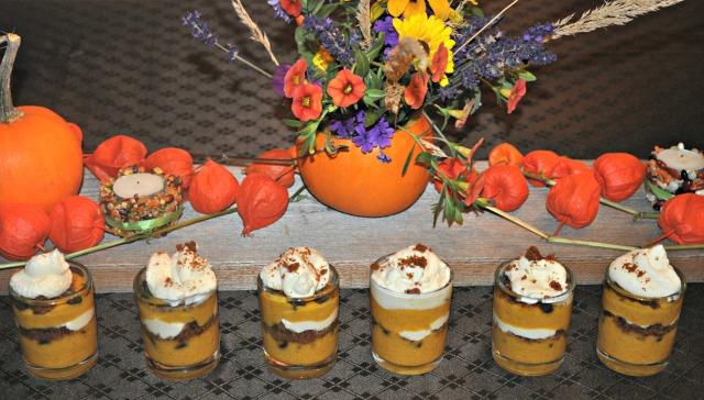 Pumpkin Gingersnap Parfait