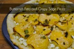 Butternut, Feta and Crispy Sage Pizza