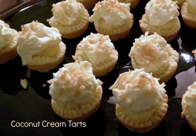 Coconut Cream Mini Pies