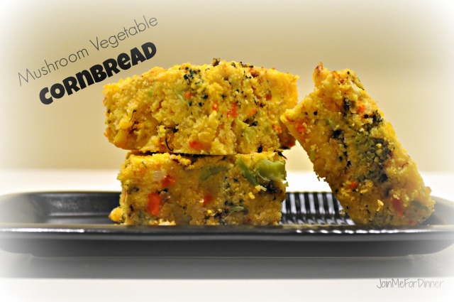 Musrhoom Vegetable Cornbread