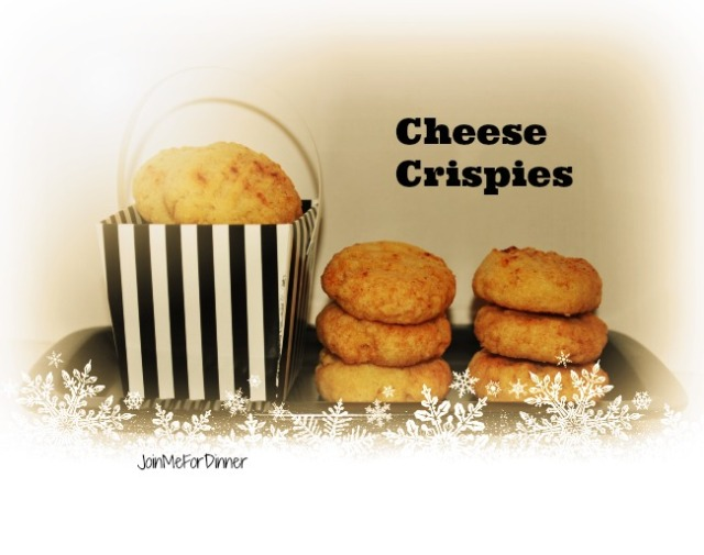 Cheese Crispies