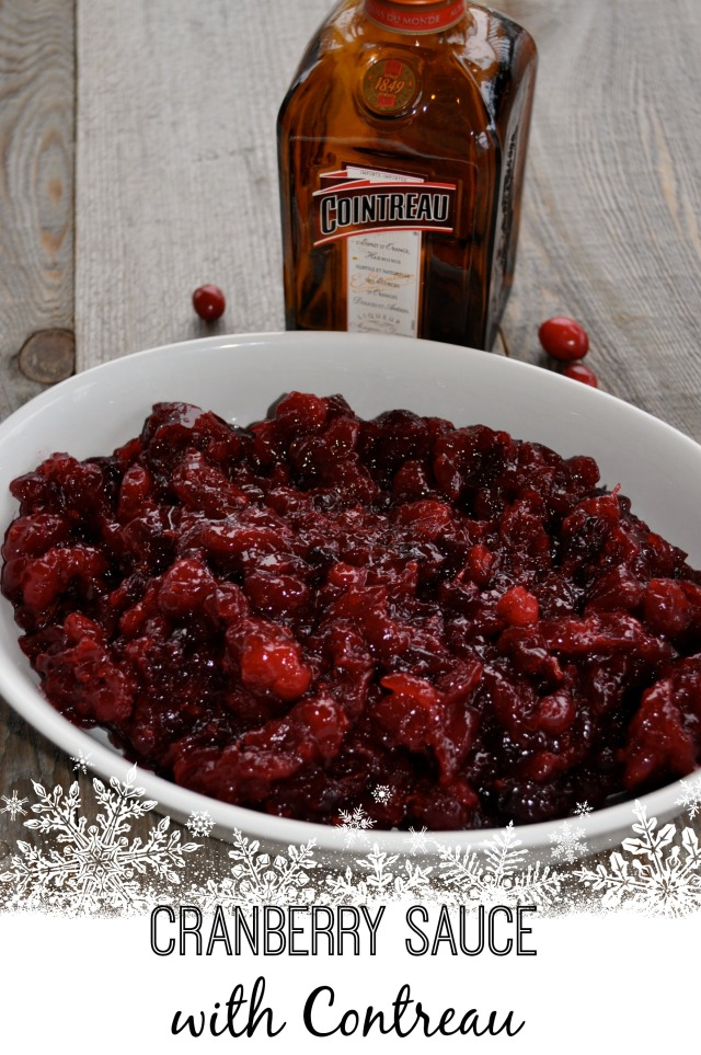 Got it under Contreau? Cranberry Sauce for Grown-ups