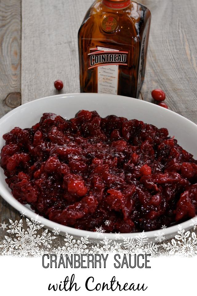 Got it under Contreau? Cranberry Sauce for Grown-ups