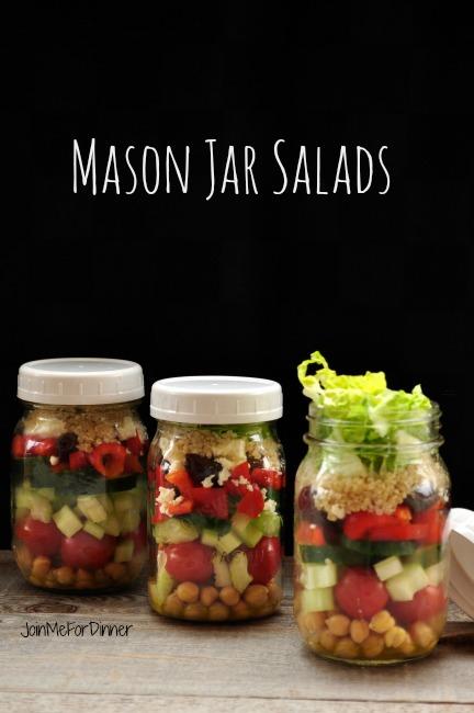 Mason Jar Salads title
