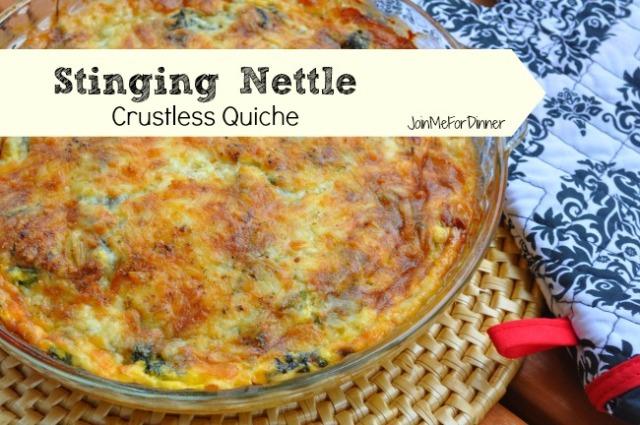 Stinging Nettle Quiche