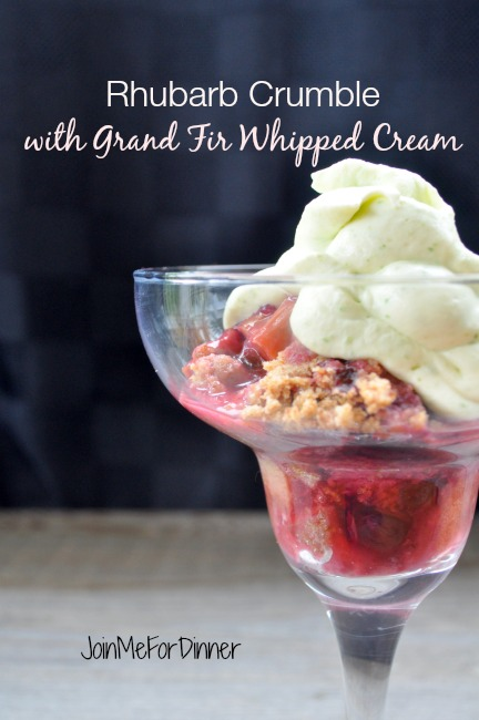 Rhubarb Crumble with Grand Fir Whipped Cream.jpg