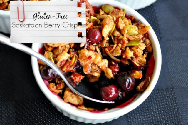 Summer Berry Crisp:  Gluten-Free and Dairy-Free