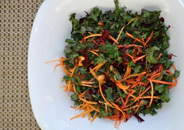 Garden Fresh Kale Salad