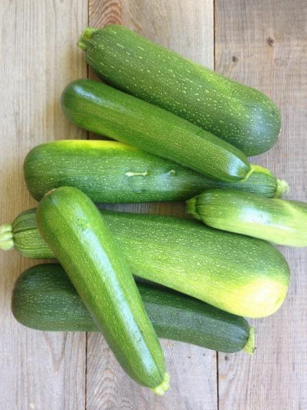 too many zucchini